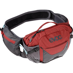 EVOC Hip Pack Pro Mediano, carbon grey/chili red